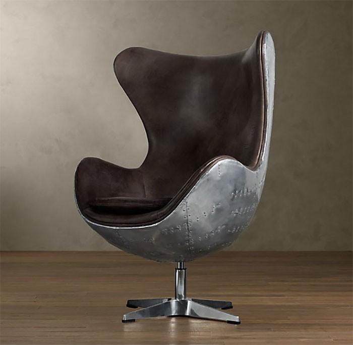 Мебель, сделанная из деталей самолетов (11 фото)