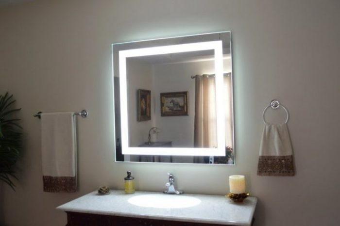 Решение проблемы запотевшего зеркала (5 фото)