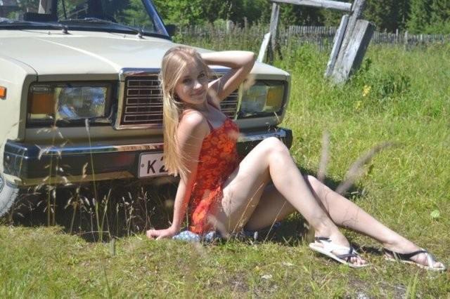 Красавицы из российских поселков и деревень (20 фото)