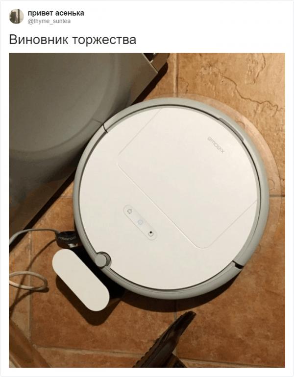 В Твиттере доказали, что роботы-пылесосы ничем не отличаются (19 фото)