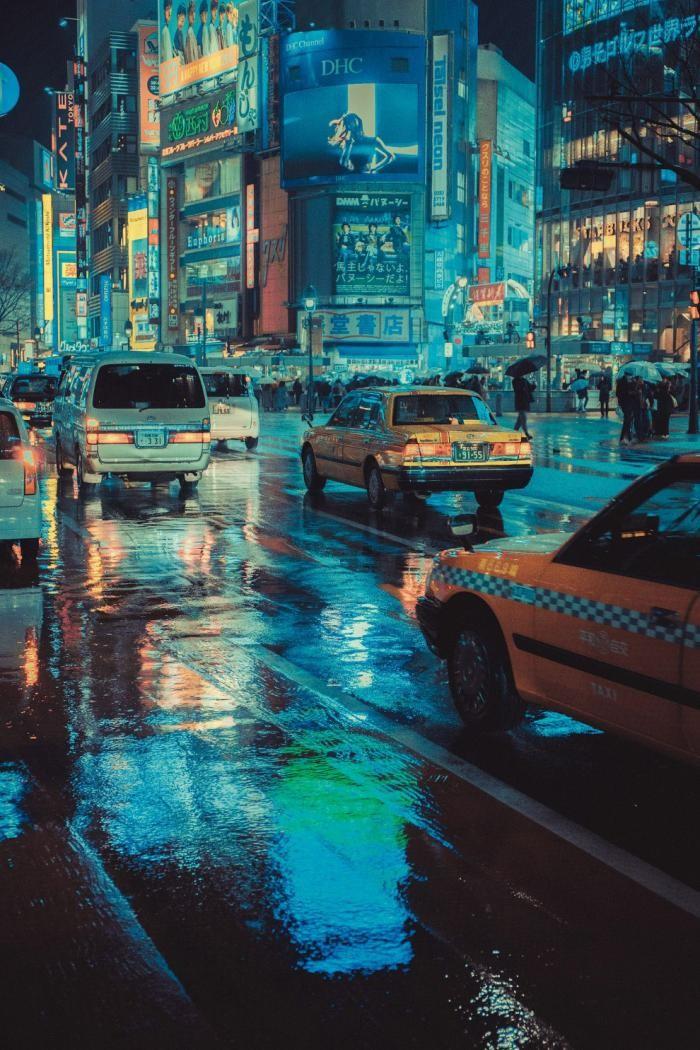 Ночная столица Японии (10 фото)