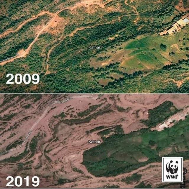 Последствия от изменений климата на планете (15 фото)