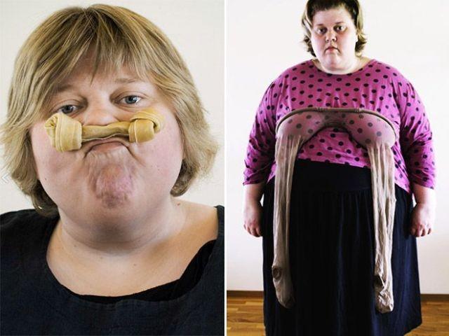 Художница из Финляндии Лиу Сусирая протестует против шаблонов (10 фото)