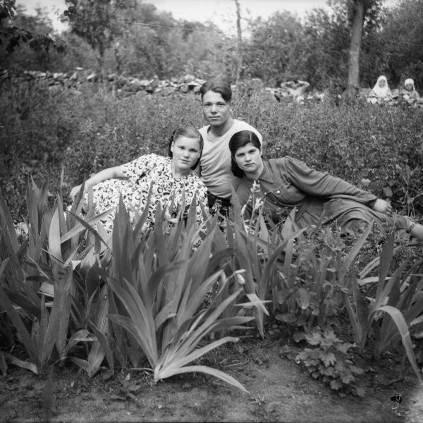 Крестьянский фотоархив: студент нашел сотни снимков (25 фото)