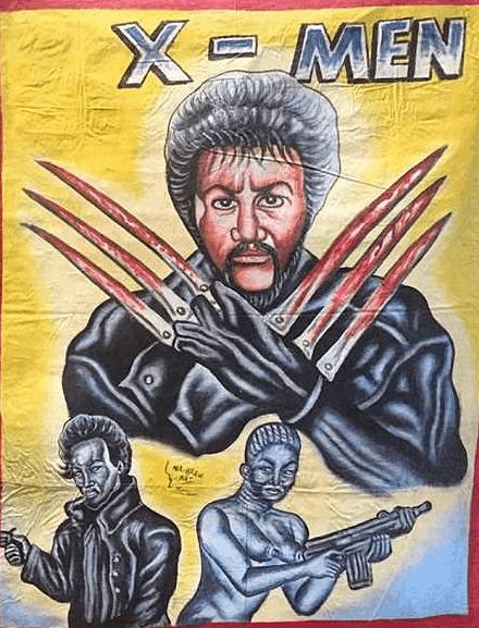Забавные и безумные киноафиши из Ганы (30 фото)