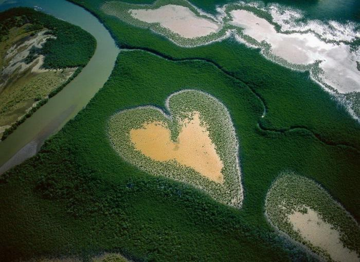 Проект французского фотографа «Земля, увиденная с неба» (57 фото)