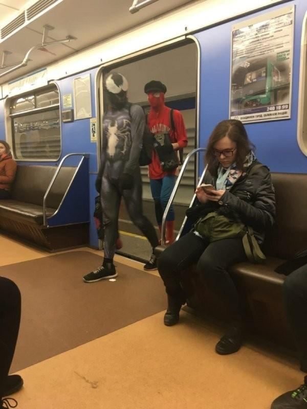 Модные ребята из метрополитена (30 фото)