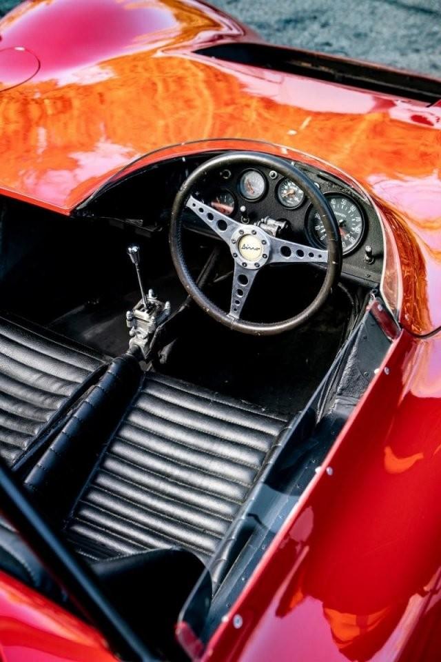 Редчайший 1966 Ferrari Dino Sports Prototype уйдет с молотка (15 фото)