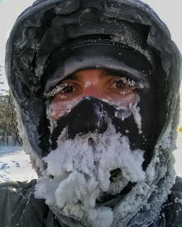 Подборка морозных фотографий из Якутии (14 фото)