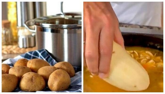 Хозяйке на заметку: как быстро спасти блюдо на плите (4 фото)