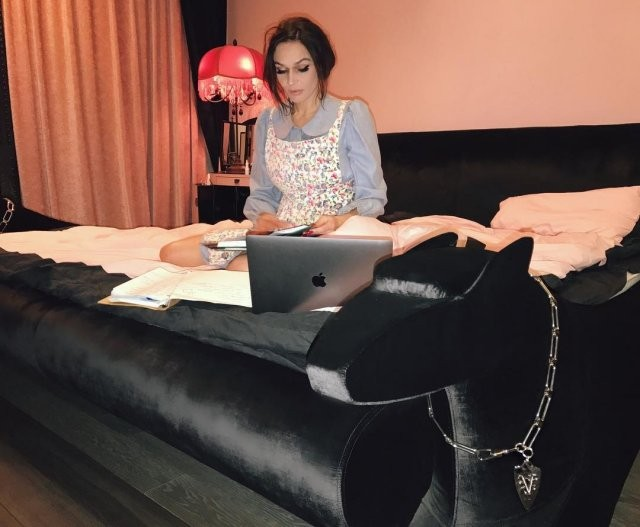 Квартира Алены Водонаевой которая критикует мат-капитал (20 фото)