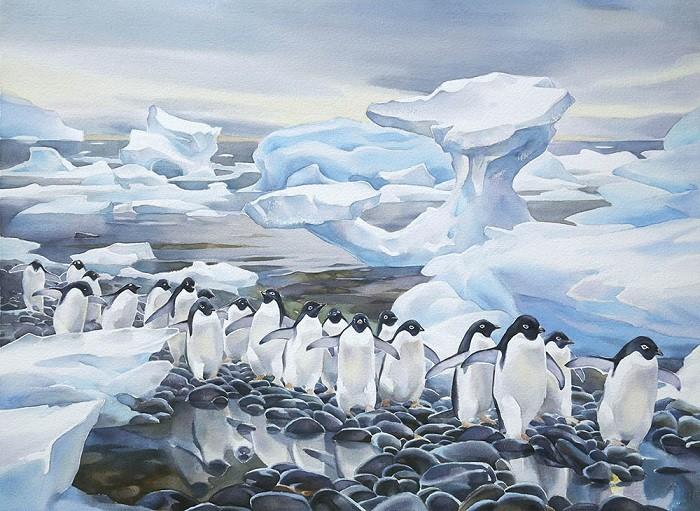 Что узнали люди после открытия Антарктиды (4 фото)