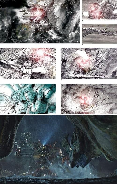 Эскизы, сделанные создателями известных фильмов (19 фото)