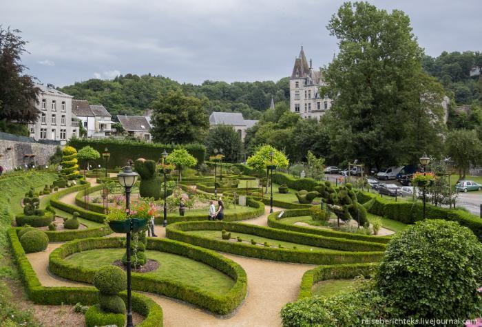 Парк топиара в Дюрбюи (Бельгия) (30 фото)