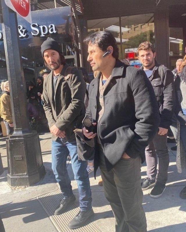 """Появились первые кадры со съемочной площадки """"Матрицы-4"""" (9 фото)"""