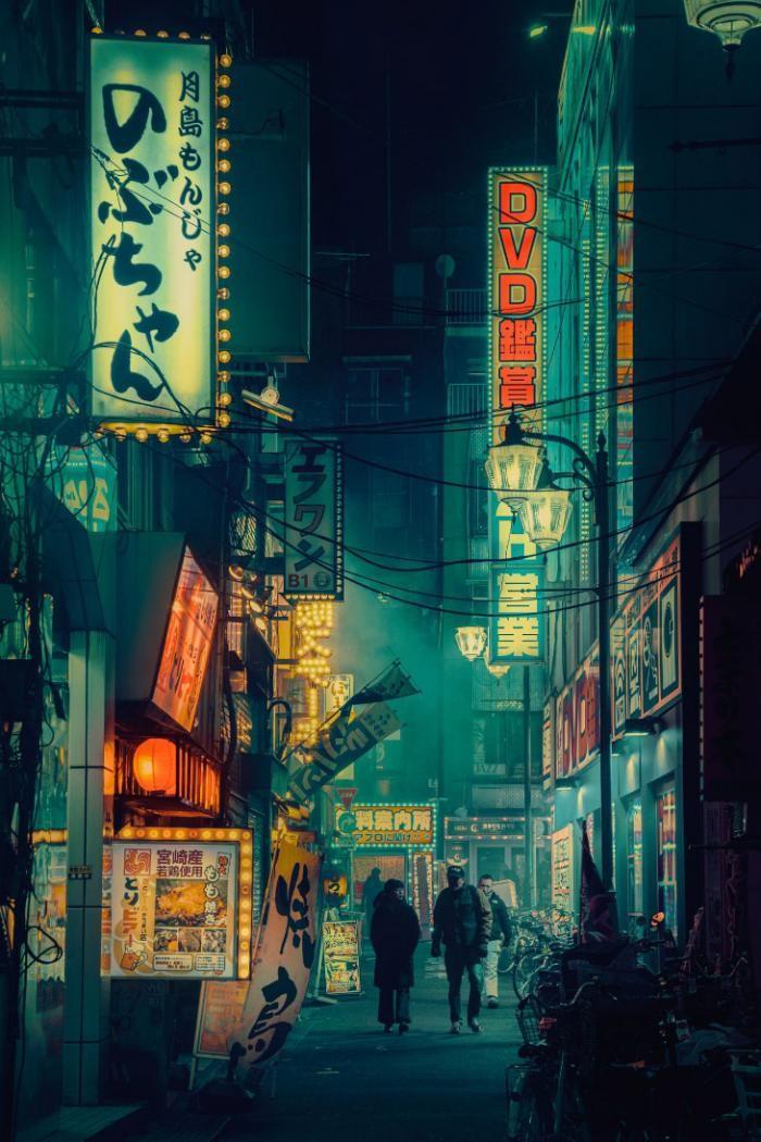 Ночная столица Японии (16 фото)