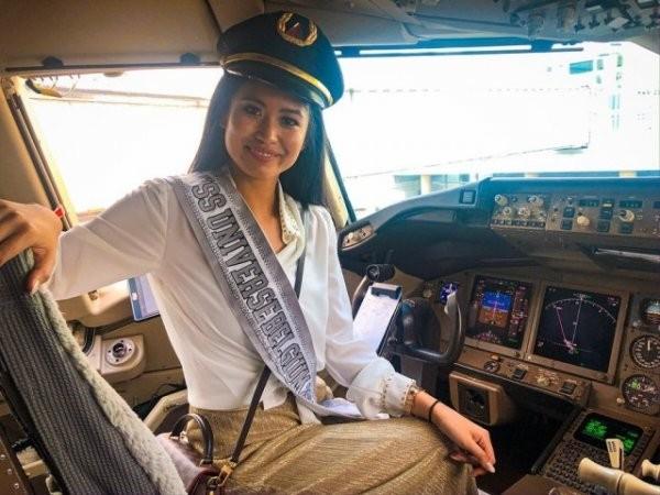 """""""Мисс Бельгии"""", которая стала пилотом (16 фото)"""