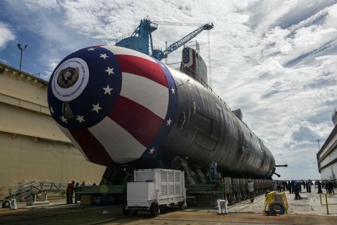 Субмарина Пентагона, которую почти невозможно засечь (2 фото)