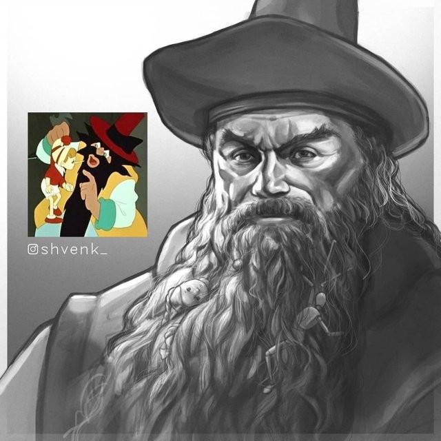 Новые работы томского художника Евгения Швенка (10 фото)