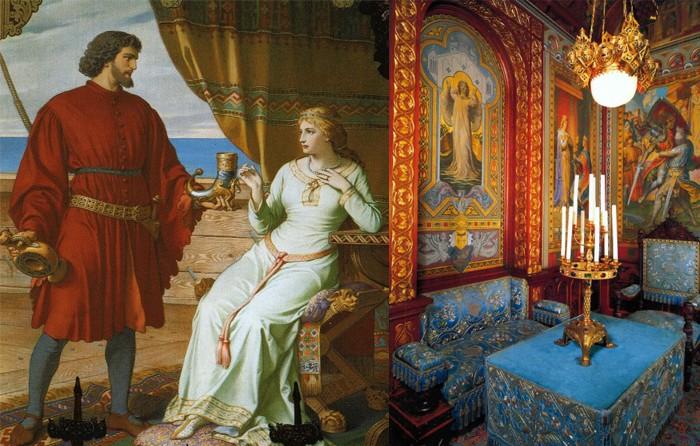 История сказочного замка Нойшванштайн (10 фото)