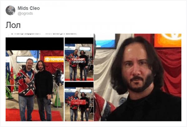 Мужчина похвастался своим совместным снимком с Киану Ривзом (11 фото)