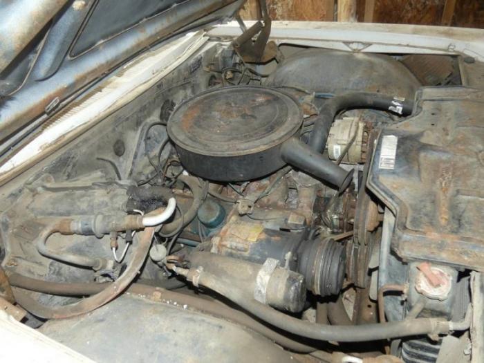 Pontiac Catalina 1966 года нашли в сарае (15 фото)