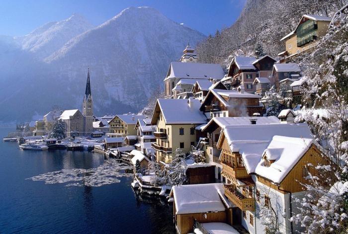 Красивейшие коммуны Австрии (14 фото)