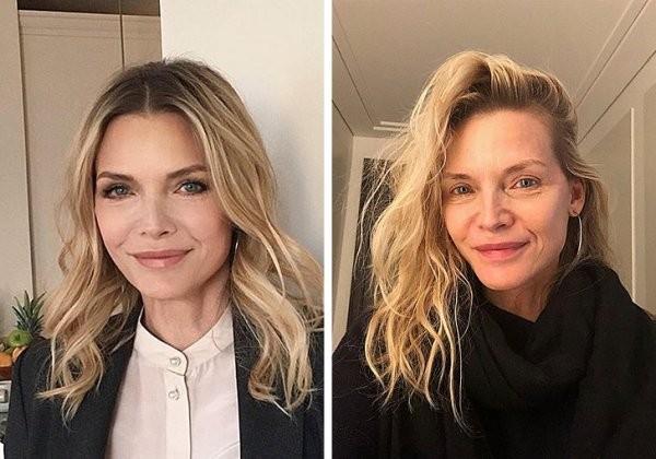Популярные женщины, которые не боятся показаться без макияжа (17 фото)