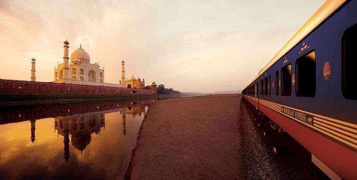 Экскурсия по одному из самых роскошных в мире поезду (22 фото)