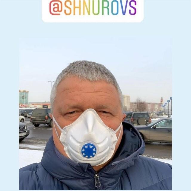 Сергей Шнуров «разогнал» смог в Красноярске (6 фото)