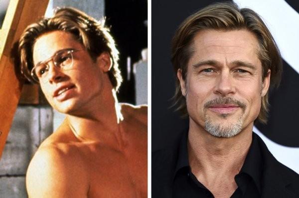 Знаменитые мужчины которые с возрастом становятся лучше (20 фото)