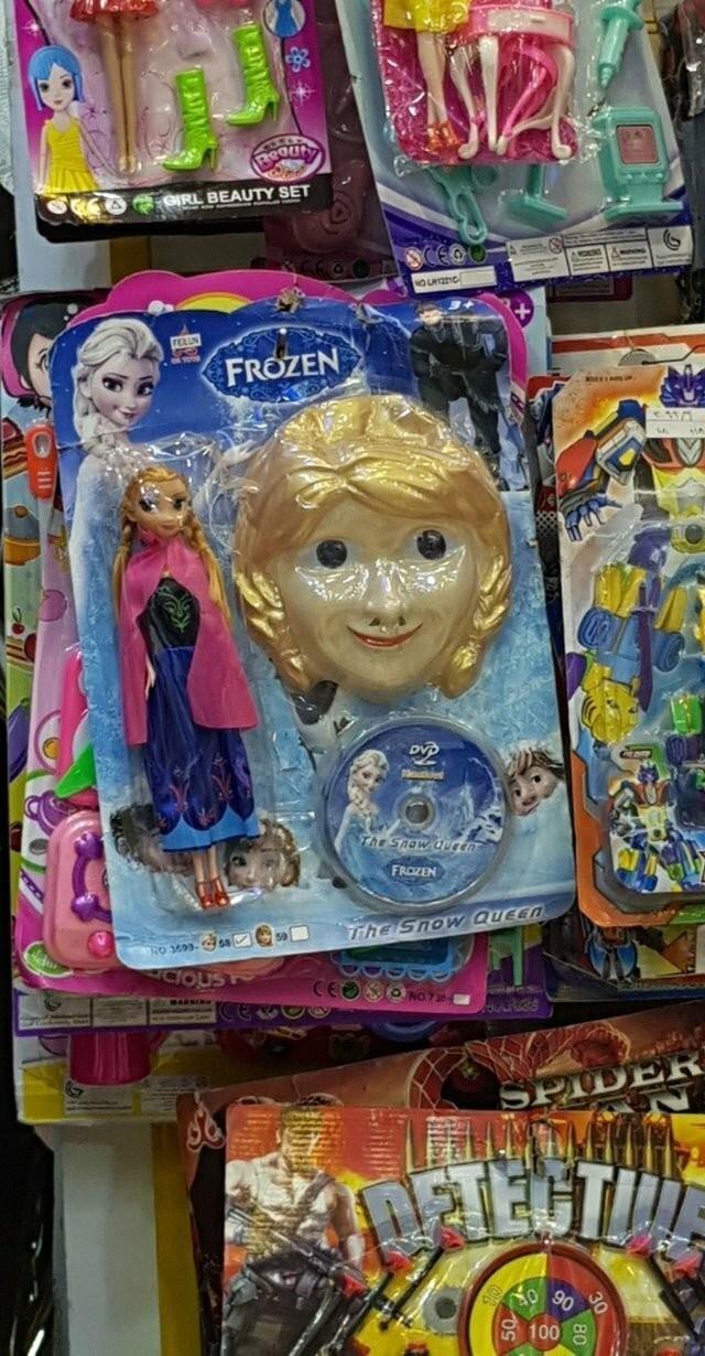 Странные детские игрушки (12 фото)