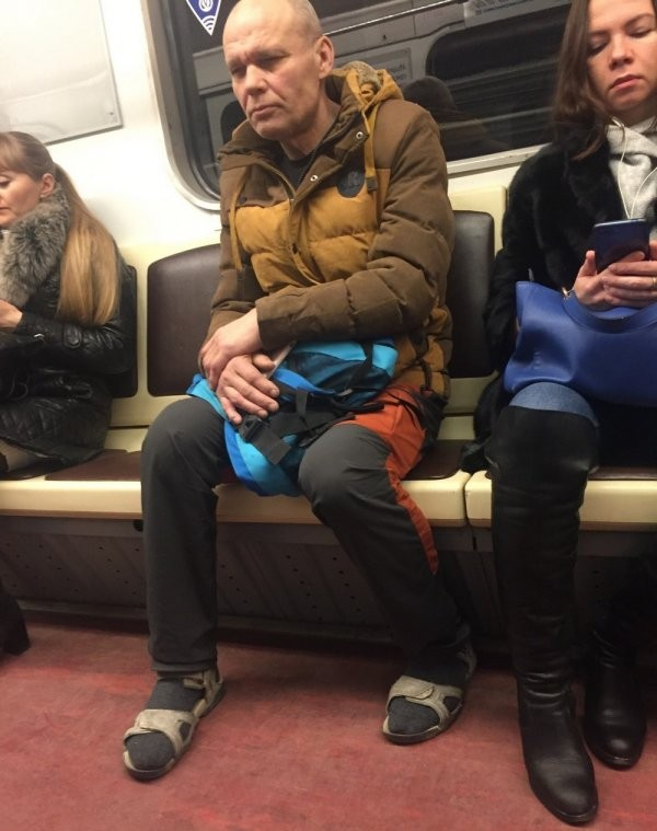 Модники и модницы из метрополитена (20 фото)