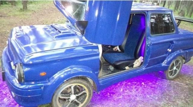 Автолюбитель превратил «Запорожец» в нечто невероятное (10 фото)