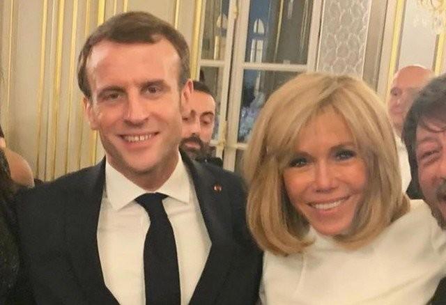 66-летняя жена президента Франции Брижит Макрон удивляет мир (7 фото)