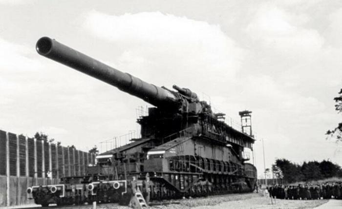 Самые большие пушки в мировой истории (11 фото)