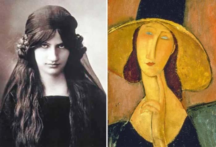 Как в реальности выглядели женщины со знаменитых портретов (7 фото)
