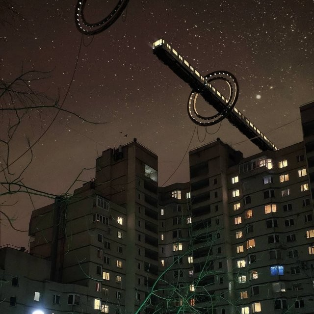 Петербург стал фантастическим миром будущего (8 фото)