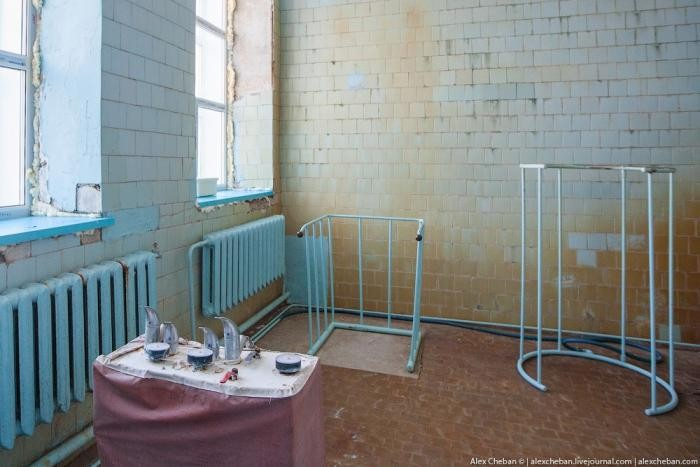 Прогулка по настоящему советскому санаторию на Колыме (27 фото)