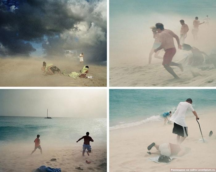 Прогулка по одному из самых необычных пляжей в мире (16 фото)