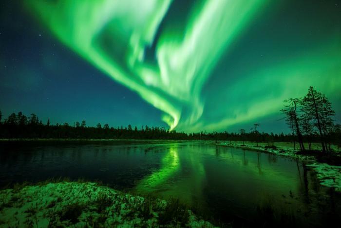 Северное сияние с разных ракурсов (19 фото)
