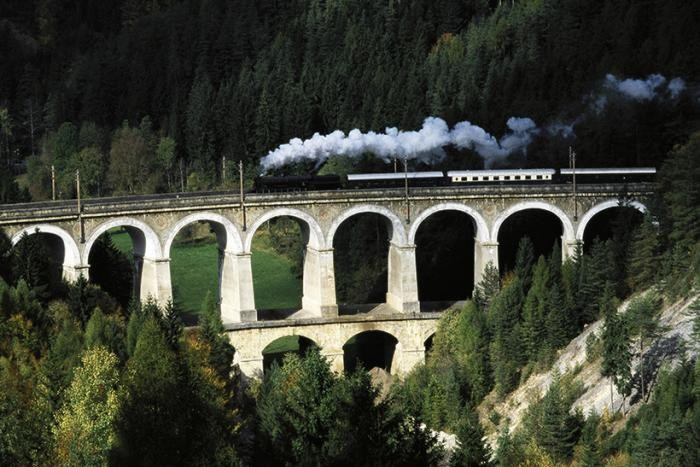 Самые красивые железнодорожные маршруты мира (9 фото)