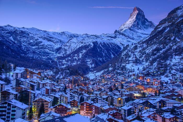 Лучшие горные курорты в Европе и России (10 фото)