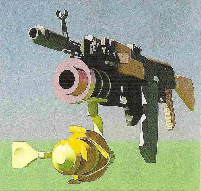 Зачем к АК-74 крепили катушку от спиннинга (5 фото)