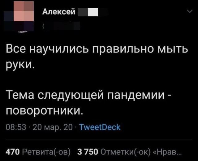 Люди в Интернете шутят про пандемию (15 фото)
