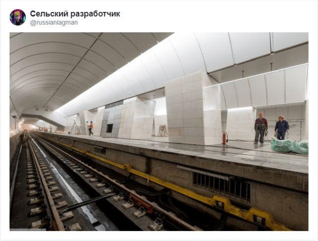 Тред в Твиттере: как выжить после падения на рельсы в метро (21 фото)