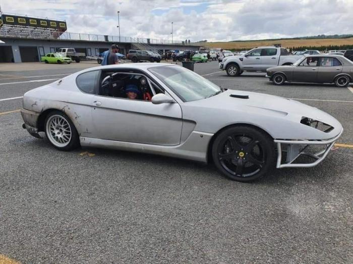 Парень из Ferrari сделал гоночный корч с роторно-поршневым двигателем