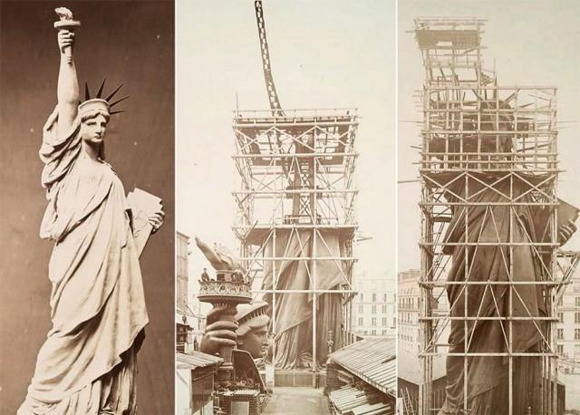 Какую книгу держит американская статуя Свободы? (7 фото)