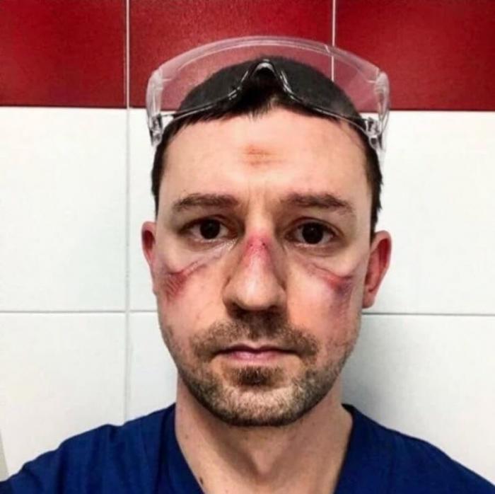 Фото из эпицентра эпидемии: итальянские врачи, спасибо вам (4 фото)