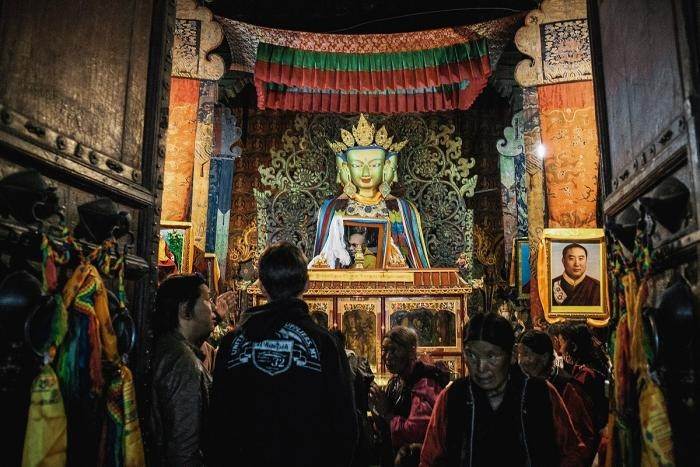 Празднования дня рождения Будды (36 фото)